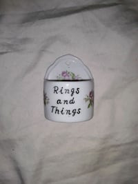 Glass Ring&Things hangable Wall Decoration
