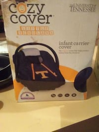 black and orange Cozy Cover infant carrier cover b Morristown, 37814