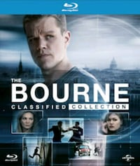 The Bourne Ultimate Collection - 5 Movies  Silver Spring