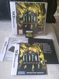 Nintendo DS Alien Infestation Gemlik