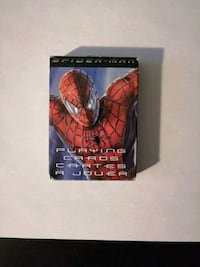 Spiderman Playing Cards Guelph