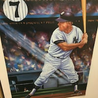 baseball player painting New York, 11426