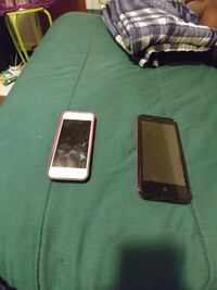 Two phones a iphone se and Android Durham