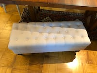 Tufted storage bench on wheels Fairfax, 22033