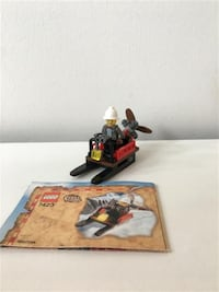 Lego Adventurers Orient Expedition Mountain Sleigh #7423