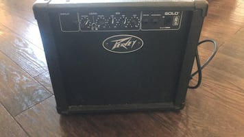 Guitar amplifier 250 V 26 watts great condition.