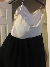 obo . snowball dress size 7 , wore once Niles, 49120