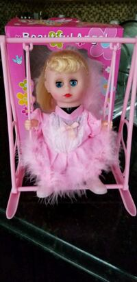 pink and white dressed doll Brampton, L6S
