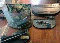 One 33 gallon bow aquarium without filter but more