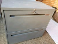 white wooden 2-drawer chest Mississauga, L4Y 3Z9