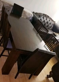 Dining set 8 chair. Solid wood