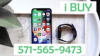 IPHONE X BLACK AND APPLE WATCH  Alexandria, 22315