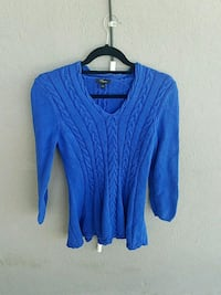 blue cable knitted sweater Banning, 92220