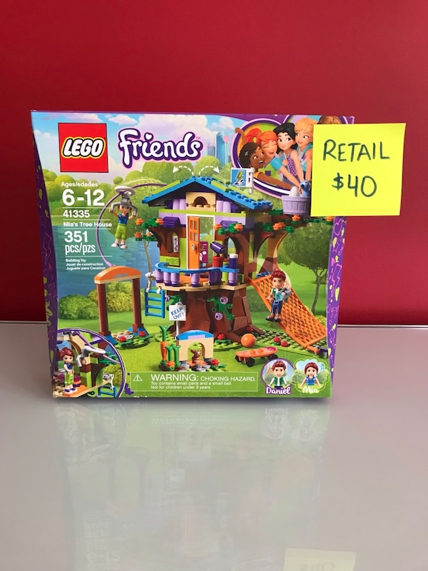 Used Lego Friends 41335 Mias Tree House For Sale In Vaughan Letgo