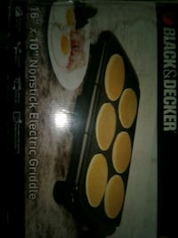 Nonstick electric Griddle