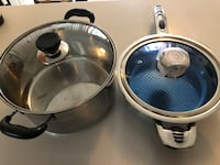 STAINLESS STEEL POT AND FRYING PAN Toronto, M1S 2B2