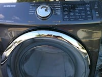 black and gray Samsung front-load clothes washer Irving, 75038
