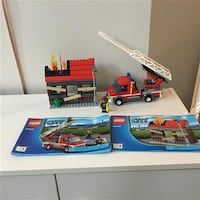 Lego City Fire Emergency #60003 Markham