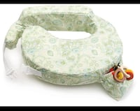 NEW!! My Brest Friend Inflatable Travel Nursing Pillow in Green Paisley  514 km