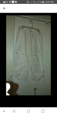 White cargo pants med Laval, H7M 4A2