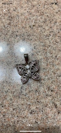 Kay's jewelry Butterfly white gold and diamond charm Macungie, 18062