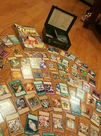 OVER ONE HUNDRED CARDS PLUS METAL CASE60 FIRM Fair Lawn, 07410