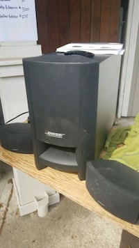 black and gray Bose speaker Vancouver, 98682