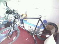 Black and puple raiglieh bike great condition and null