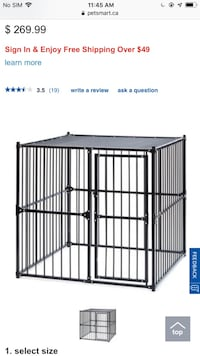 Dog kennel ( you will have to unassemble it your self)   Mississauga, L5V 3C6