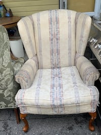 Vintage Wingback Chairs  Clifton, 07011
