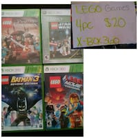 assorted Xbox 360 game cases Romeoville, 60446