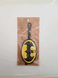 Batman Luggage Bag ID Tag  Vancouver, V5P 3Y7