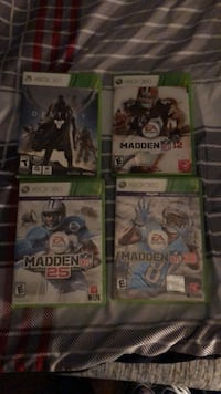 3 madden games and  Destiny 1 Xbox 360. Baltimore, 21229