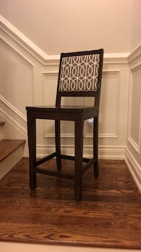 Counter stool solid wood .