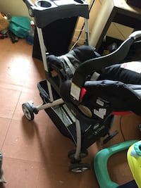 Baby stroller and car seat Laurel, 39440