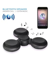 3 Speaker Call Answering Bluetooth Spinner