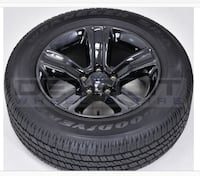 OEM ram sport rims and tire Milton, L9T 4R6