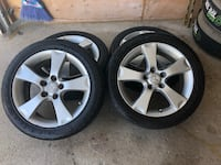RIMS AND TIRES 205/50/17