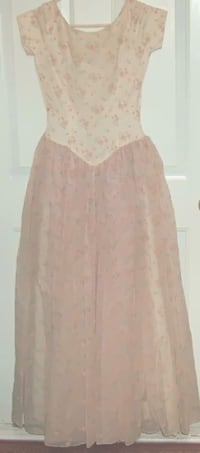 Vintage Floral Chiffon Dress London