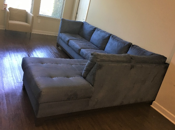 Sensational Sparingly Used Sectional Couch Gamerscity Chair Design For Home Gamerscityorg