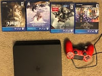 PS4 1tb with multiple games and 2 controllers Alexandria, 22304