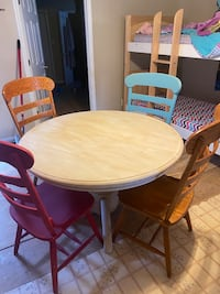 Farm House dining table and chairs  Table