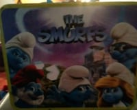 Old-fashioned Smurfs lunch box with Smurf inside Albuquerque, 87105