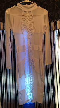 Women's white long-sleeved see through lace dress. Never worn  Chattanooga, 37407