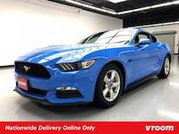 2017 *Ford* *Mustang* V6 coupe Blue San Francisco, 94102