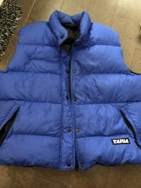 Unisex taiga down vest ~ women's large or men's medium 3719 km