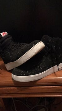 Pair of black high top nike Air Force ones  Winchester, 22602