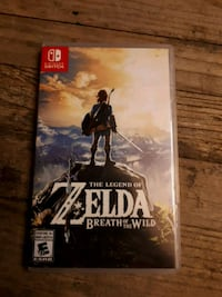 The Legend of Zelda Nintendo Switch game case 3765 km