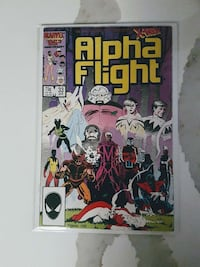 Alpha Flight comic Richmond Hill, L4C 4T1