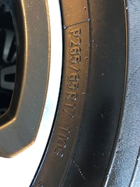 Tires and Rims from Toyota Tacoma